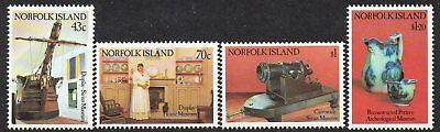 NORFOLK Is, 1991 MUSEUM 4 MNH