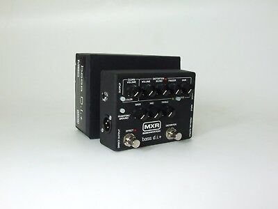MXR M80 bass D.I. + Preamp Distortion, great condition