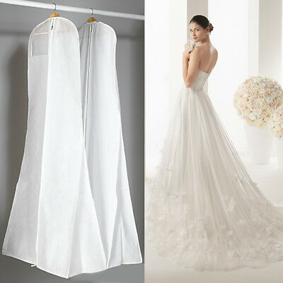 Large Wedding Dress Bridal Gown Garment Dustproof Breathable Cover Storage Bag