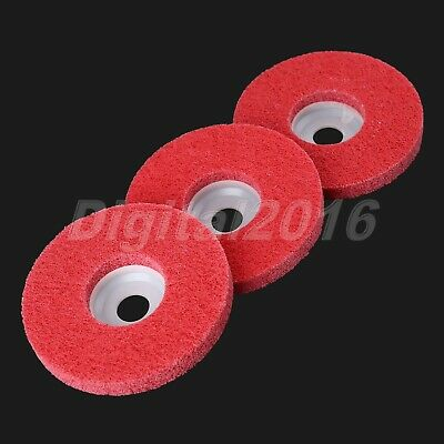 Carpentry Fiber Polishing Wheel Buffing Pad Grinding Abrasive Disc Rotary Tool