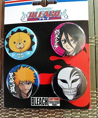 Bleach ~anime~ 1inch pin buttons