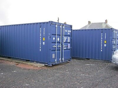 One Trip Shipping Container's For Sale 20ft portable cabin site storage
