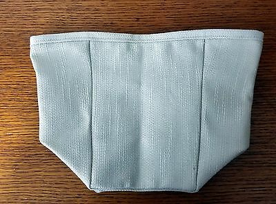 Tall Tissue Basket Liner from Longaberger Oatmeal fabric.  New & Crisp