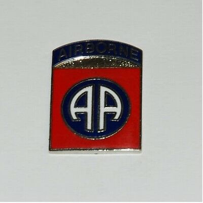 US Army Metallabzeichen 82nd Airborne Division All American WW2 Paratrooper Pin