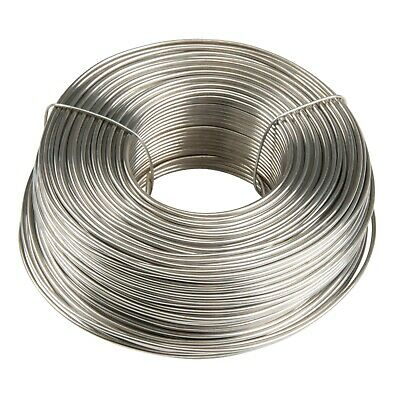 3.5 lb. Coil 18-Gauge Stainless Steel Tie Wire 542 feet per roll 304 Type