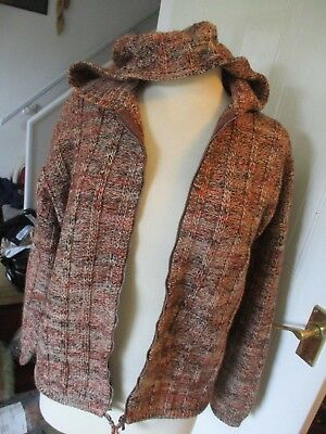 Bundle Of 3 Ladies Hand-Knitted Cardigans, Size 16, Exc-Con