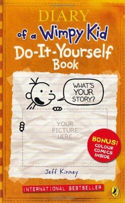 Diary of a Wimpy Kid: Do-It-Yourself Book By Jeff Kinney. 9780141327679