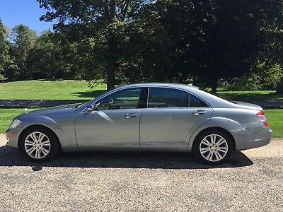 2008 Mercedes-Benz S-Class S550 4Matic Grey S550 4Matic with Night View Assist, Distronic Plus & Premium III packages