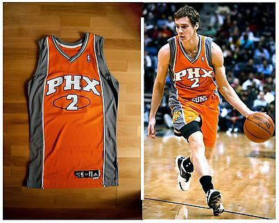 Goran Dragic game used Rookie jersey - phoenix suns