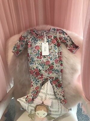 Bebe By Minihaha BNWT Jumpsuit Size 6 Months