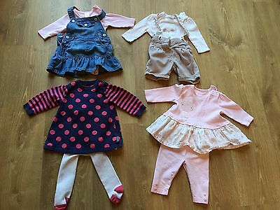 Baby Girls 0-3 Winter Outfit Bundle