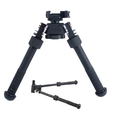 "1pcs Tactical Bipod 4.75""-9"" QD Picatinny RIS Rail Mount Folded Adjustable Rifle"