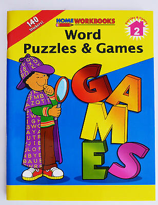 Educational Workbook - Word Puzzles & Games
