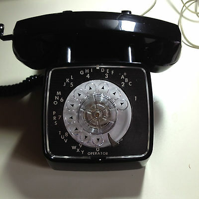 Automatic Electric GTE Type 80 Desk phone ROT