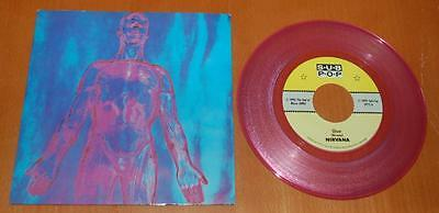"Nirvana - Sliver - 1990 US Pink Vinyl 7"" Single - Erika 2nd Press"