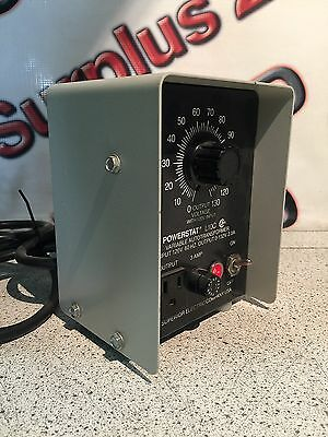 Powerstat L10C Variable Autotransformer