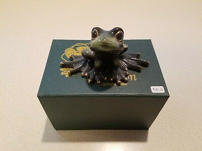 Golden Pond Collection by Green Tree --Handmade Ceramic Frog