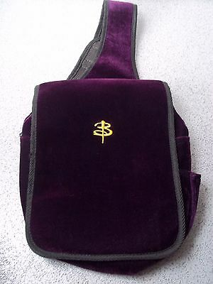 Buffy The Vampire Slayer - Messenger Bag - Purple Faux Velvet - Collector's Item