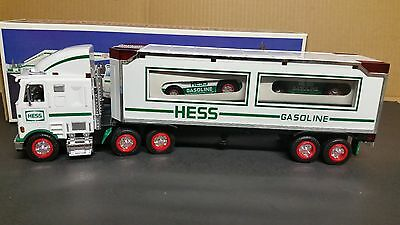 1997 Hess Toy Truck and Racers      New in the Box !