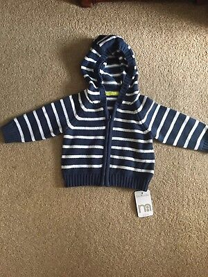 Boys Cardigan ages 3 to 6 months 100% cotton