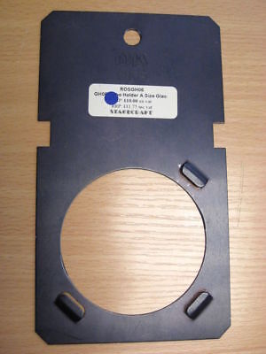 ROSCO / DHA GH35  A Size Glass Gobo Holder for Strand Cantata