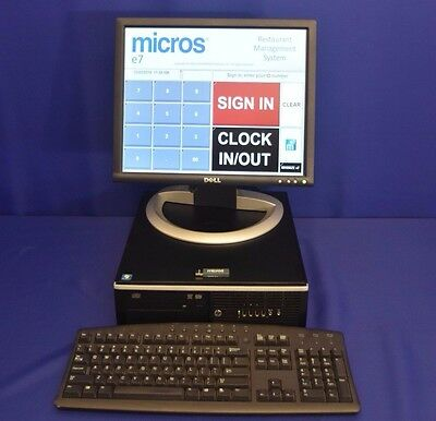 MICROS POS E7 SERVER WITH E7 LICENCE KEY & MANUALS v. 4.20 INCLUDING PROGRAMMING