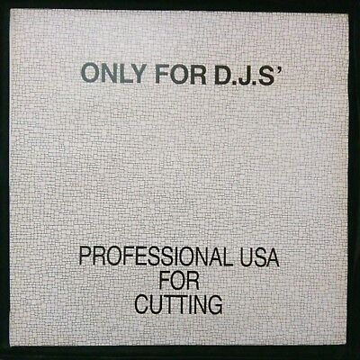 LP 33 Vinile - Only For D.J.S' - Professional Usa For Cutting 1991 - Ottimo!