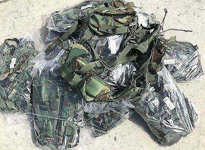 10 Stück US ARMY TACTICAL ENHANCED LOAD BEARING VEST LBV WOODLAND CAMOUFLAGE