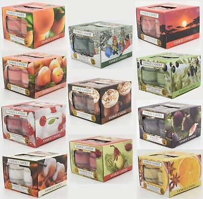 Yankee Candle Scented Tea Lights (Box of 12) - Multi-buy options see description