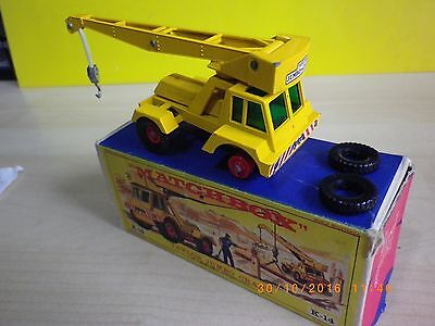 Matchbox King Size K-14 Taylor Jumbo Crane With Original Old Box - Lesney K14