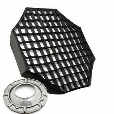 "48"" Octagon Softbox Soft Box Octbox Speedring and Honeycomb Grid for Alien Bees"