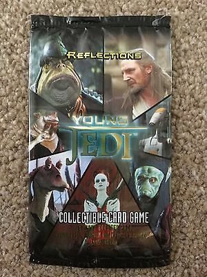 STAR WARS Young Jedi REFLECTIONS ccg Master Set of 100 cards (60 Foils) YJ