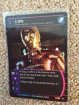 STAR WARS TCG - A New Hope - ANH - C-3PO (C) - 64/180 - Uncommon Foil