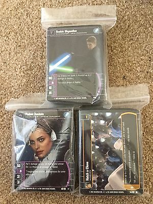 STAR WARS TCG - Attack of the Clones - AotC - Master Set - 180 cards - Mint