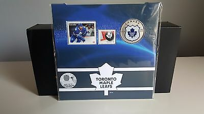 2014 Canada NHL COIN AND STAMP SET - TORONTO MAPLE LEAFS - Only 6,000 MINTAGE !!