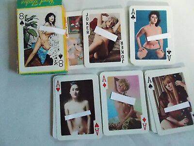 Royal  Flushes Kartenspiel Playing Cards 54 Models Erotik Spielkarten No 9009