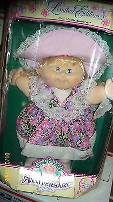 CABBAGE PATCH KID DOLL HASBRO KIDS 10th anniversary edition