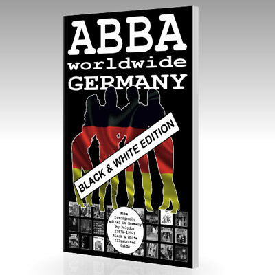 Book - ABBA Worldwide - Germany (1971-1992) - Black & White Edition - Guide