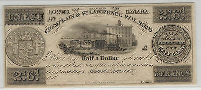 Champlain & St. Lawrence Railroad - 1837