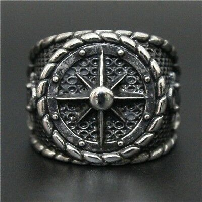 Valknut Odin 's Slavic Rings Kolovrat Celtic Symber Triskele Ring Viking Jewelry