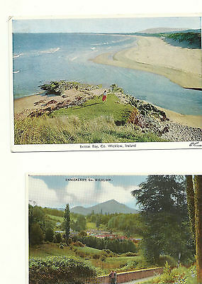 2 postcards Co Wicklow