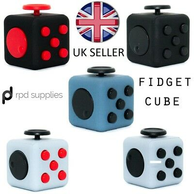 Fidget Cube Spinner Stress Relief Job Lot x10 x20 Desk Game Adults Kids Fun