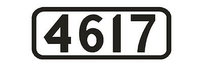 Number Board DECALS ShellScale HO116