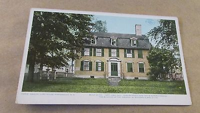 Old Postcard<<PORTSMOUTH, NEW HAMPSHIRE >>{SAMUEL LORD HOUSE}