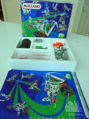1998 Meccano Set # 5510 Motion System - Includes Instruction Manual 8 -12 Years