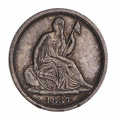 1837 Seated Liberty Half Dime - Circulated *1653