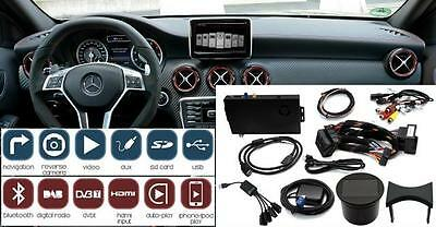 """ADAPTIV Mercedes A CLA GLA NTG4.5 with 7"""" 8"""" Tablet web surfing BT iPhone USB"""