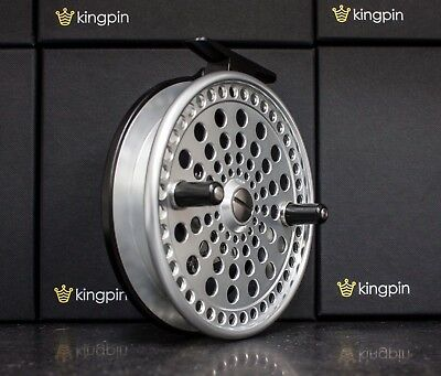 Kingpin Imperial 475 Float Centerpin Centrepin Reel Silver