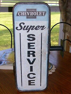 Vintage Chevrolet Super Service Sign