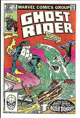 GHOST RIDER (Vol.1) # 59 (AUG 1981), NM